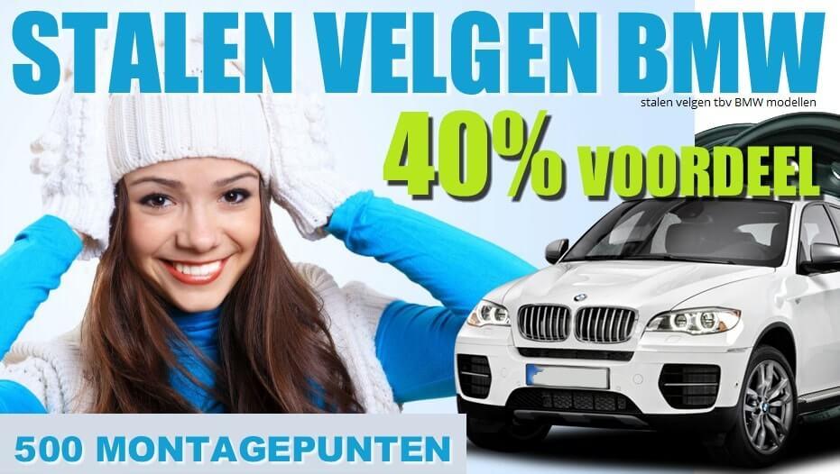 BMW stalen velgen