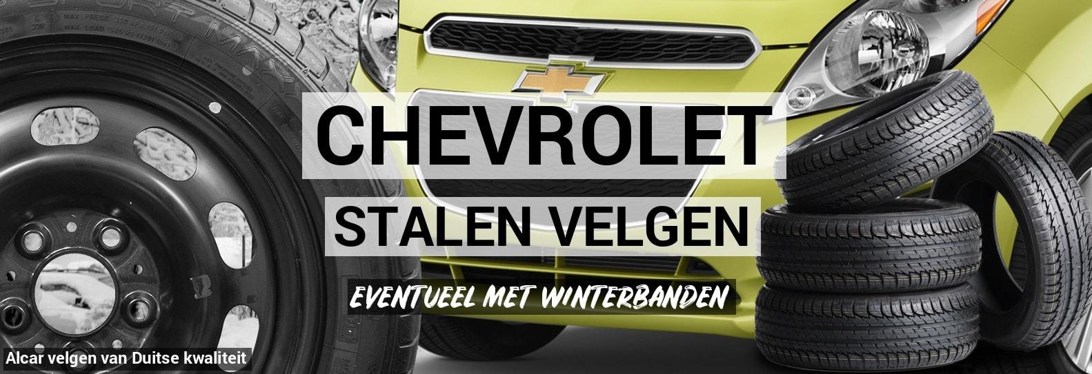 Stalen Velgen Chevrolet Autobanden Prijsvechter Online
