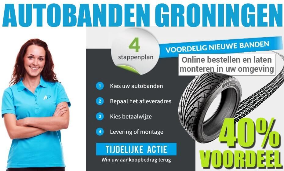 Autobanden in Groningen online bestellen