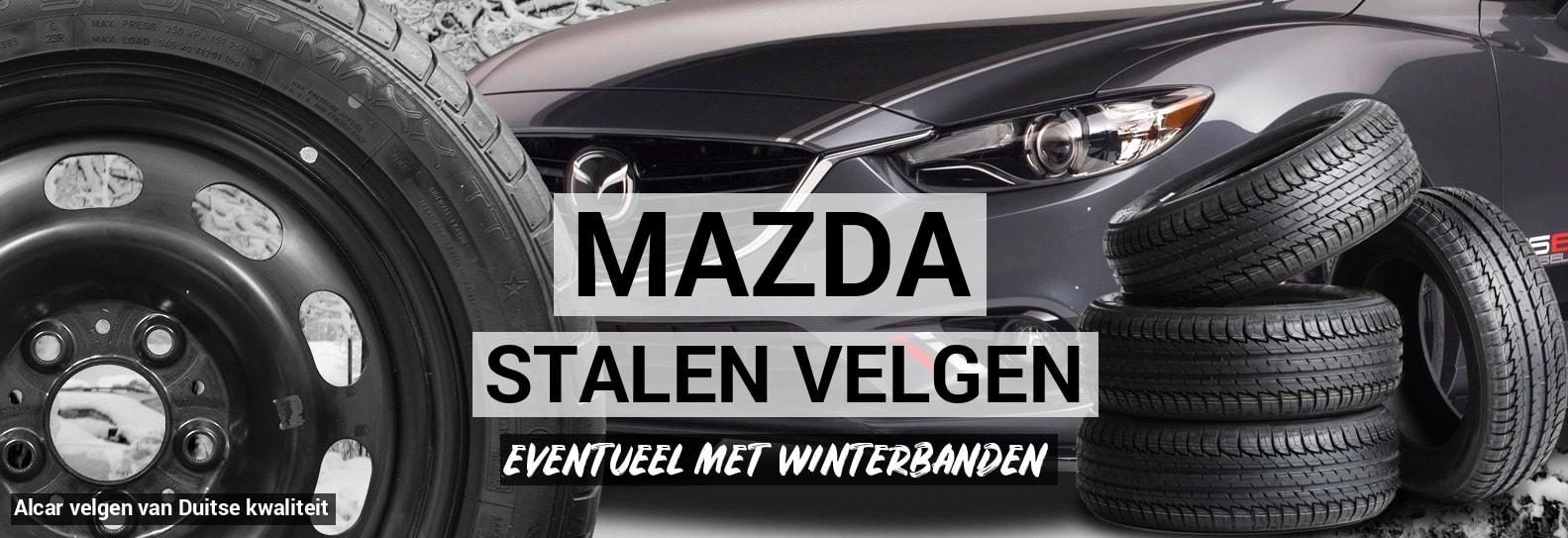 Stalen Velgen Mazda Autobanden Prijsvechter Online
